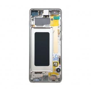 Samsung Display LCD Komplettset GH82-18849B Prism Weiß für Galaxy S10 Plus G975 - Vorschau 4