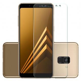 Premium 0, 3 mm H9 Hart Glas Transparent Folie für Samsung Galaxy A8 A530F 2018