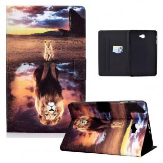 Für Samsung Galaxy Tab A 10.1 2016 Motiv 11 Tablet Tasche Kunst Leder Hülle Etui