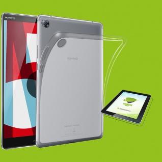 Für Huawei MediaPad M5 8.4 Transparent Hülle Tasche Cover + HD Display Folie Neu