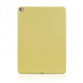 Schutzhülle Silikon Hülle Netz Serie Gelb Case für Apple iPad Air 2 2014 Cover