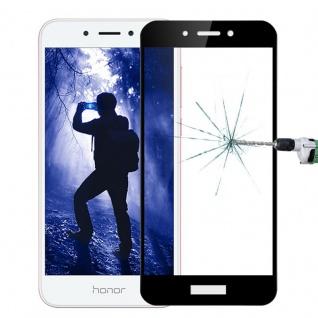 Für Huawei Honor 6A 3D Premium 0, 3 mm H9 Panzerglas Schwarz Folie Schutz Hülle