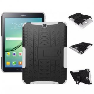 Hybrid Outdoor Schutzhülle Weiß für Samsung Galaxy Tab S2 9.7 T810 Tasche Hülle