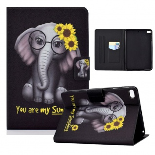 Für Apple iPad Mini 2 / 3 / 4 / 5 Motiv 1 Tablet Tasche Kunst Leder Hülle Etuis