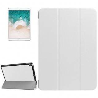 Smartcover Weiß Cover Tasche für Apple iPad Pro 10.5 2017 Hülle Etui Case Schutz
