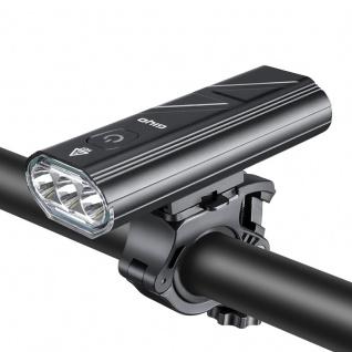 Fahrrad Frontleuchte USB wasserdichte Fahrrad Lampe Wasserfest Bike Zubehör