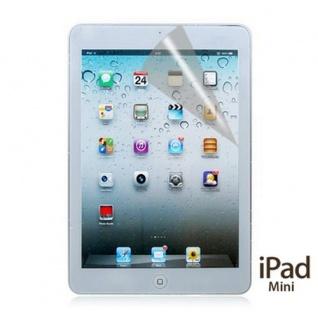 Displayschutz Schutz Folie Hülle für Apple iPad Mini + Poliertuch Tuch Günstig