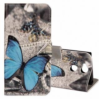 Tasche Wallet Book Cover Motiv 21 für Sony Xperia XA2 Hülle Case Etui Schutz Neu