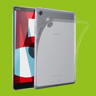 Für Huawei MediaPad M5 8.4 Transparent Tasche Hülle Case TPU Silikon Cover dünn