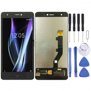 Für BQ Aquaris X / X Pro Display Full LCD Touch Screen Ersatz Reparatur Schwarz