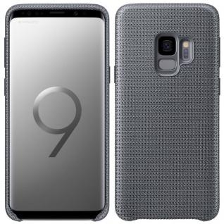 Samsung HyperKnit Cover EF-GG960FJEG für Galaxy S9 G960F Tasche Hülle Case Grau