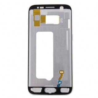 Gehäuse Rahmen Deckel kompatibel Samsung Galaxy S7 G930 G930F Kleber Silber - Vorschau 3
