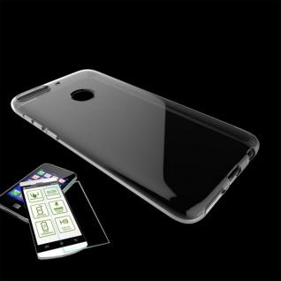 Für HTC Desire 12 Plus Silikoncase Transparent Tasche + 0, 3 H9 Panzerglas Hülle