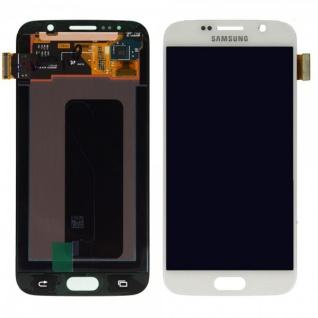 Display LCD Komplettset Touchscreen Weiss für Samsung Galaxy S6 G920 G920F Neu