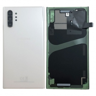 Samsung GH82-20588B Akkudeckel Deckel für Galaxy Note 10 Plus N975F Aura Weiß