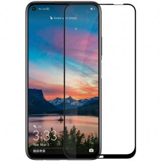 Für Huawei P40 Lite 3D Display Full H9 Hart Glas Schwarz Folie Panzer Schutz Neu