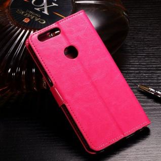 Tasche Wallet Premium Pink für Huawei Honor 9 Lite Hülle Case Cover Schutz Etui - Vorschau 2