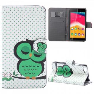 Schutzhülle Muster 40 für Wiko Rainbow Jam Bookcover Tasche Hülle Wallet Case