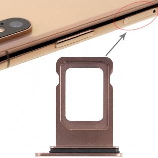 Für Apple iPhone XS Max 6.5 Zoll Sim Karten Halter Gold SD Card Ersatzteil