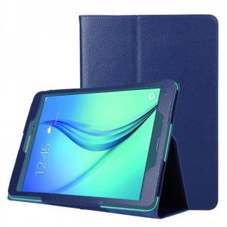 Schutzhülle Dunkelblau Tasche für Samsung Galaxy Tab A 9.7 T555N T550 Hülle Case