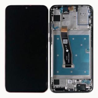 Für Huawei P Smart 2019 Display Full LCD Touch mit Rahmen Reparatur Schwarz Neu