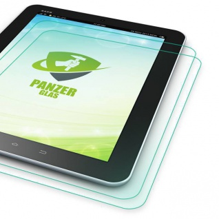 2x 0, 4 mm H9 Panzerglas Glas Tempered Folie für Samsung Galaxy Tab A 10.1 T580