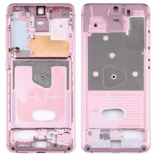 Mittelrahmen Samsung Galaxy S20 5G Pink Middle Frame Zubehör Ersatzteil