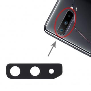 Kamera Abdeckung für Asus ROG Phone 3 Ersatzteil Reparatur Zubehör Schwarz