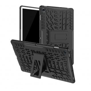 Für Samsung Galaxy Tab S5e 10.5 T720F Outdoor Hybrid Schwarz Tasche Etuis Hülle