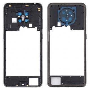 Mittelrahmen für Nokia 5.3 Schwarz Middle Frame Rahmen Gehäuse Ersatz Zubehör
