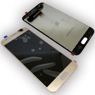 Display Full LCD Komplettset GH96-10990A Gold für Samsung Galaxy J3 2017 J330F - Vorschau 1