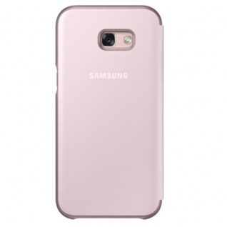 Samsung Neon Flip Cover Hülle EF-FA320PP Galaxy A3 2017 A320F Schutzhülle Pink - Vorschau 2