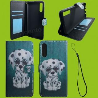 Xiaomi Redmi Note 9S/9 Pro Kunst-Leder Handy Tasche Motiv 60 Hülle Case Cover