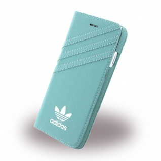 Adidas Basics Tasche Book Cover Apple iPhone 7 Plus Hülle Handytasche Etui Grün
