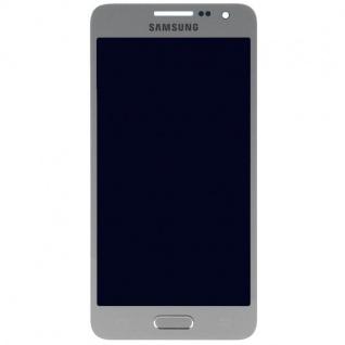 Display LCD Komplettset Touchscreen Silber für Samsung Galaxy A3 A300 A300F Neu