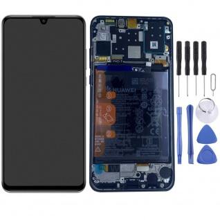 Huawei Display LCD Pack Rahmen für P30 Lite New Edition 02353FPX Schwarz Ersatz