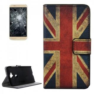 Schutzhülle Muster 9 für Huawei G8 5.5 Zoll Bookcover Tasche Case Hülle Wallet
