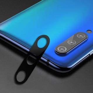 Rückseite Schutzrahmen für Xiaomi Mi 9 SE Schwarz Back Cam Ring Cover Kamera