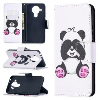 Für Nokia 5.4 Kunst-Leder Handy Tasche Motiv 4 Hülle Case Etuis Cover Schutz