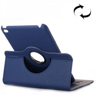 Deluxe Schutzhülle 360 Grad Dunkelblau Tasche für Apple iPad Mini 4 7.9 Zoll