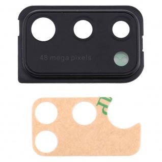 Kamera Linsencover für Samsung Galaxy A41 Schwarz Camera Ersatzteil Ersatz