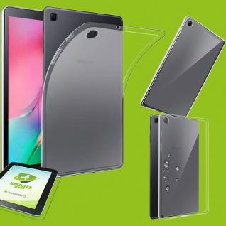 Für Samsung Galaxy Tab A 10.1 2019 T510 Transparent Hülle Tasche Cover + H9 Glas