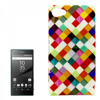 Hardcase Muster 38 Hülle für Sony Xperia Z5 Compact (Mini) 4.6 Case Cover Tasche