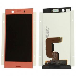 Sony Display LCD Komplett für Xperia XZ1 Compact G8441 Reparatur Pink Ersatz Neu