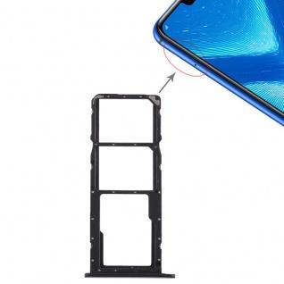 Ersatz Sim Karten Halter Adapter Sim Tray für Huawei Honor 8X Reparatur Schwarz