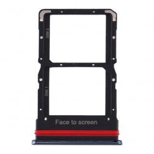 Für Xiaomi Mi 10 Lite Card Tray Sim Karten Halter Schwarz Ersatzteil Zubehör