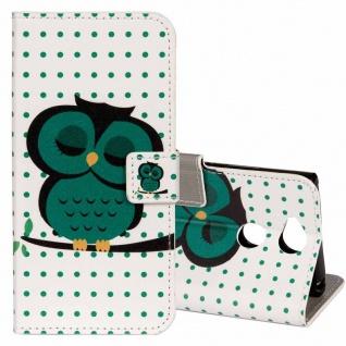 Tasche Wallet Book Cover Motiv 22 für Sony Xperia XA2 Hülle Case Etui Schutz Neu