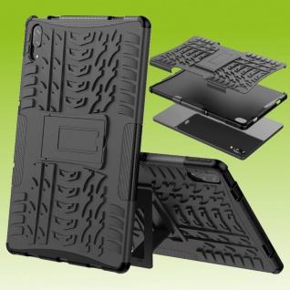 Für Lenovo Tab P11 Pro 11.5 Zoll TB-J706 Hybrid Schwarz Tablet Tasche Etui Hülle