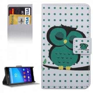 Schutzhülle Motiv 37 für Sony Xperia Z5 Compact 4.6 Zoll Bookcover Tasche Case