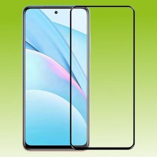 Für Xiaomi Redmi Note 10 2x 3D Display LCD H9 Hart Glas Schwarz Folie Panzer Neu